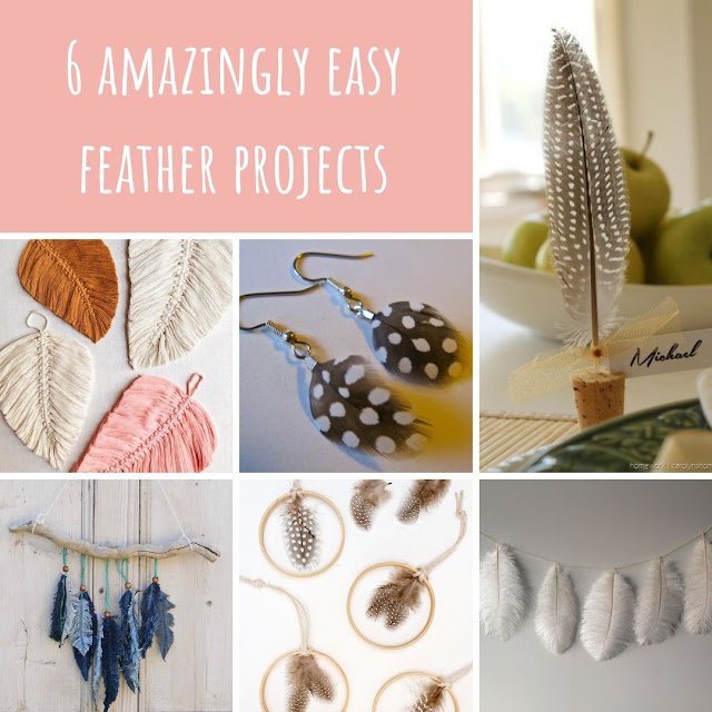6 amazingly easy feather projects
