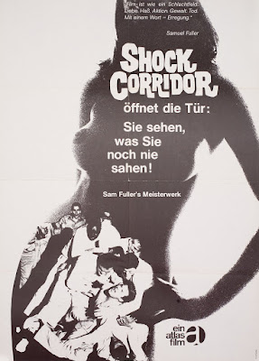 Shock Corridor - Poster