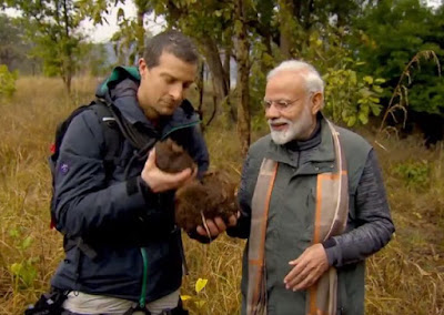 PM Modi in Man vs. Wild