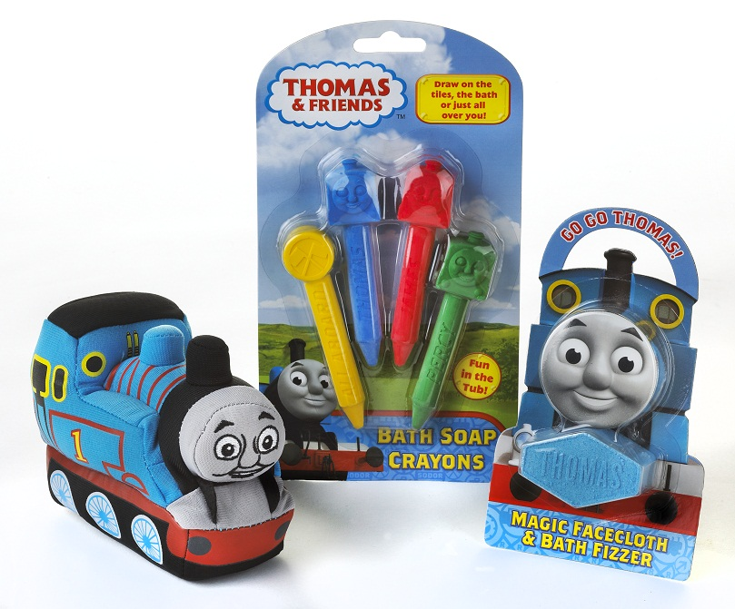 Thomas and Friends Bath Toys - My Three and Me