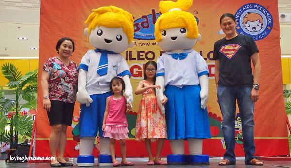 Bright Kids Preschool Bacolod - Villa Lucasan - Bacolod preschool - multiple intelligence - fun kinder school - Bacolod kinder school- Chinese kinder school in Bacolod - Grow Happy - Bright Kids Mascots Billie and Katie
