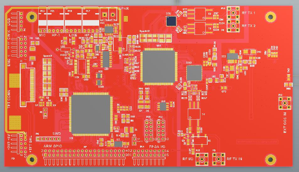 uprog research: FPGA / ARM DSP radio