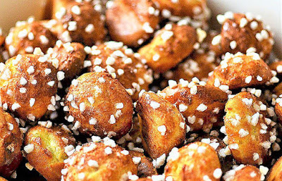 INTERNATIONAL:  Bread of the Week 45:  French Chouquettes or French Pastry Sugar Puffs