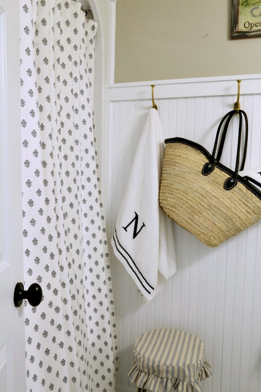 Savvy Southern Style  Farmhouse Style Guest Bath Updates