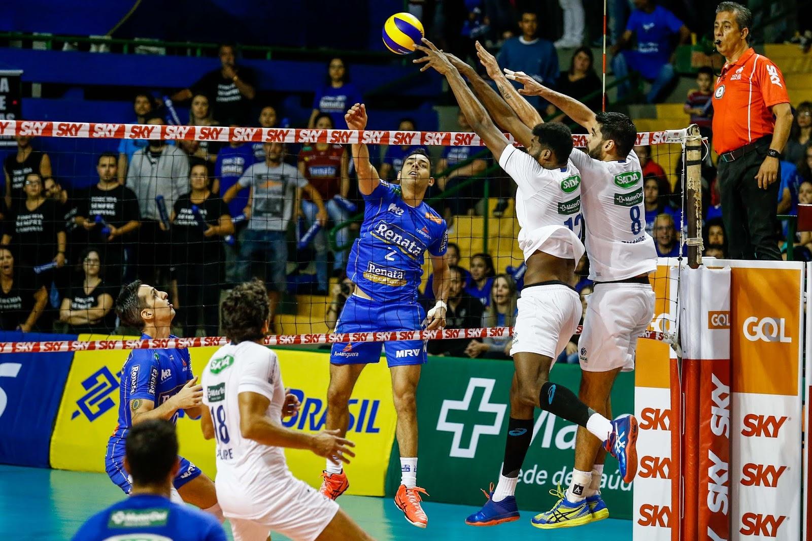 (Superliga) Vôlei Renata supera Sada Cruzeiro na partida de abertura 736d69927965f