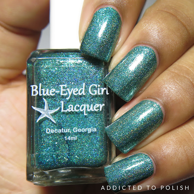 Blue Eyed Girl Lacquer Siren Walks in Sunshine