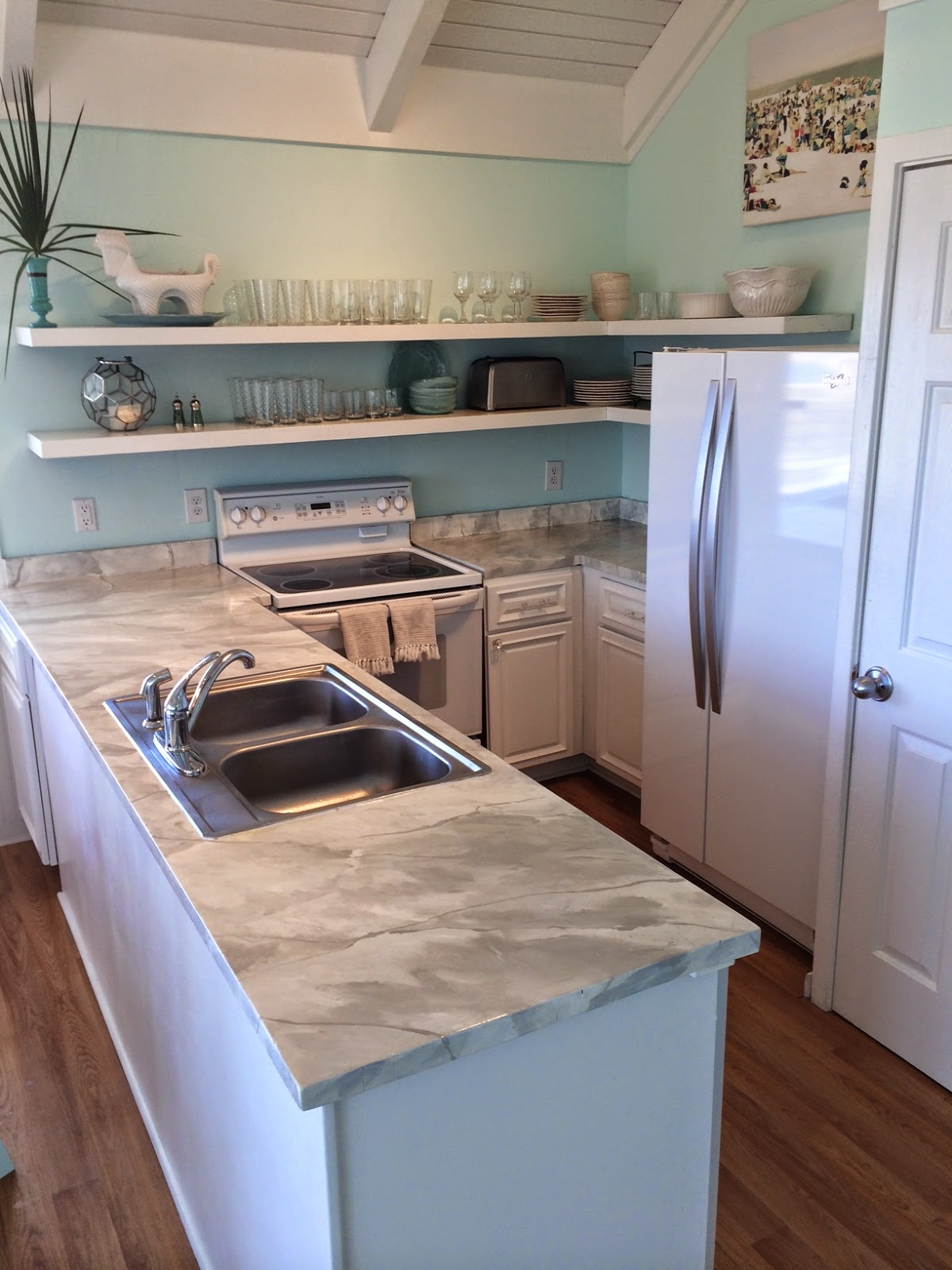 Can You Paint Corian Countertops Birds Of A Feather Diy Marble Counter Tops