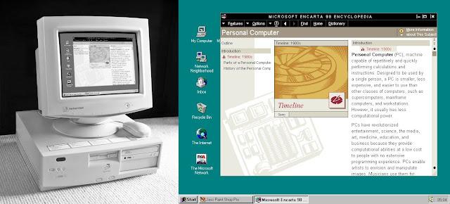 MS Encarta in Windows 95