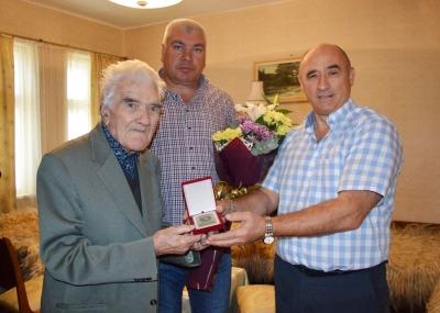 Петко Лазаров, ветеран от Втората световна война, отбеляза своя 95-ти рожден ден