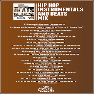 The Dynamic Hamza 21® - Beats For The Rhymes Volume 2
