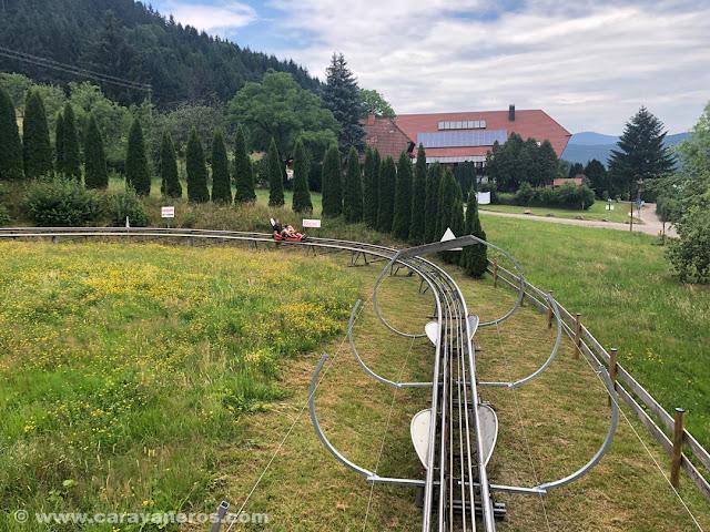 Tobogán gigante en Gutach |Alsacia y la Selva Negra en autocaravana