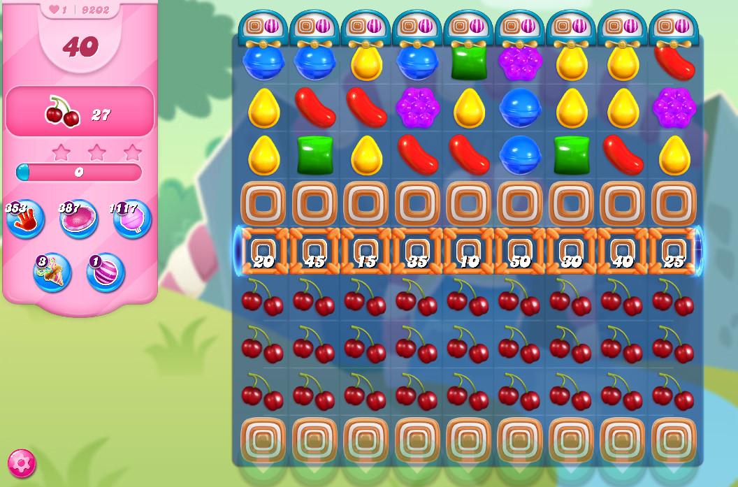 Candy Crush Saga level 9202
