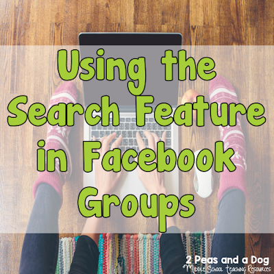 Stop scrolling endlessly through Facebook Groups. Use the search feature to locate information quickly from the 2 Peas and a Dog blog.