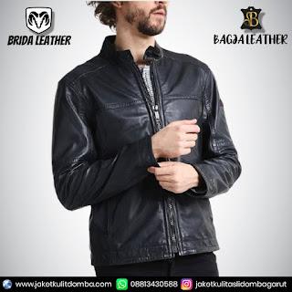 jaket kulit asli import