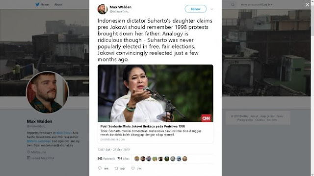 Titiek Soeharto Dijadikan Bahan Ejekan Jurnalis Asing Gara Gara Minta Jokowi Berkaca Kepada Soeharto