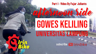 Afternoon Ride - Gowes Bareng Gadis Cantik Seputaran Universitas Lampung Part I‼️ IrinBike