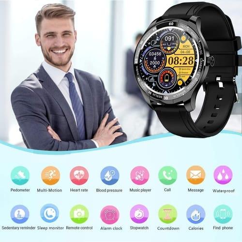 Review GARINEMAX GM-SWT50-BK Fitness Tracker Smartwatch