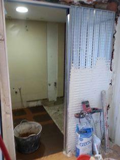 baño puerta corredera