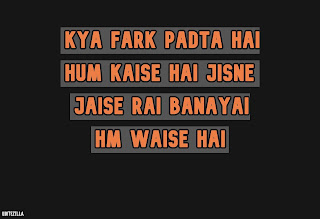 vTop 29 Best Attitude FB Status In Hindi 2020 - Quotezilla