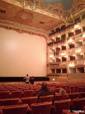 Sala teatrale del Teatro la Fenice