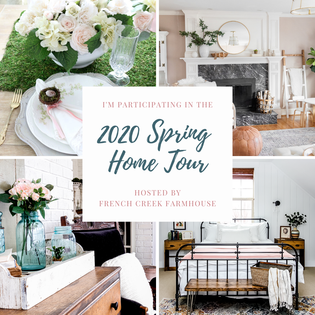 TourCover Spring Flowers Inspired Tablescape & Blog Hop Decorating Holidays Spring
