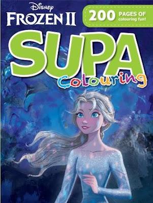 Frozen II Colouring Book