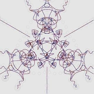 面白い形を描画するための頂点を円で描画