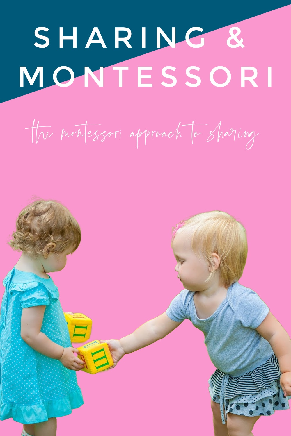In this Montessori parenting podcast, we discuss why we don't make kids share in Montessori and discuss other strategies that help instead.