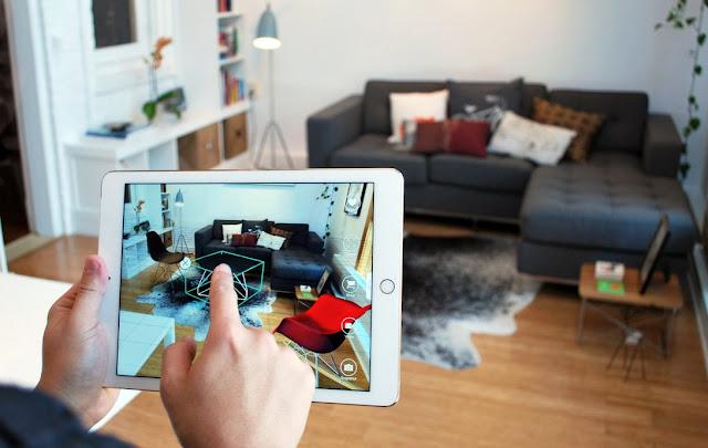 فكرة لعمل تطبيق على الهاتف لتغيير تصميم غرفتك