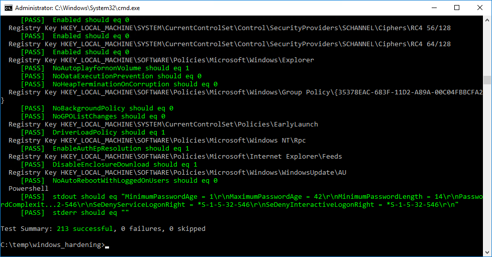 Quick Windows Hardening with Infrastructure-as-Code – Chef