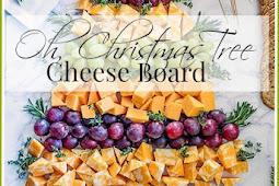 OH,CHRISTMAS TREE CHEESEBOARD