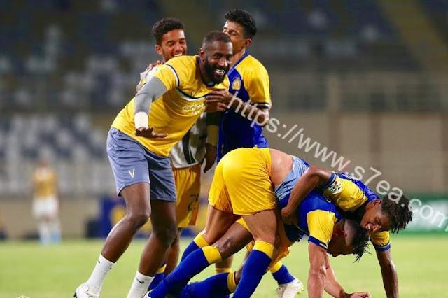 أنتصار النصر السعودي و التأهل لربع نهائي كأس أسيا