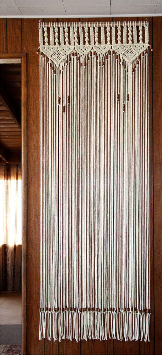 Diy Door Curtain Curtains Double Rod Bracket Drop Cloth