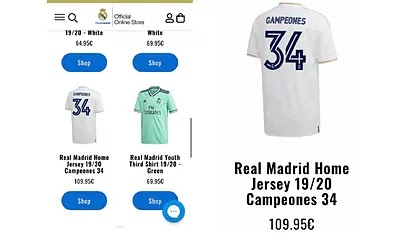 Real Madrid release La Liga title celebratory merch accidentally but deleted