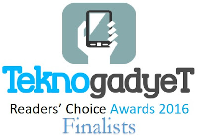 TeknoGadyet Readers' Choice Awards 2016 Finalists