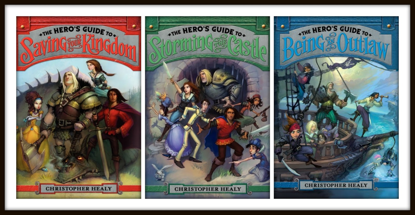 Christopher Healy The League Of Princes Bks 1 & 2