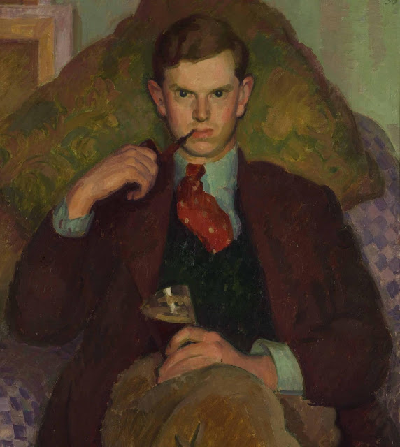 Evelyn Waugh, Age 26 (1930) Henry Lamb (British, 1883-1960) Collection of Lord Moyne