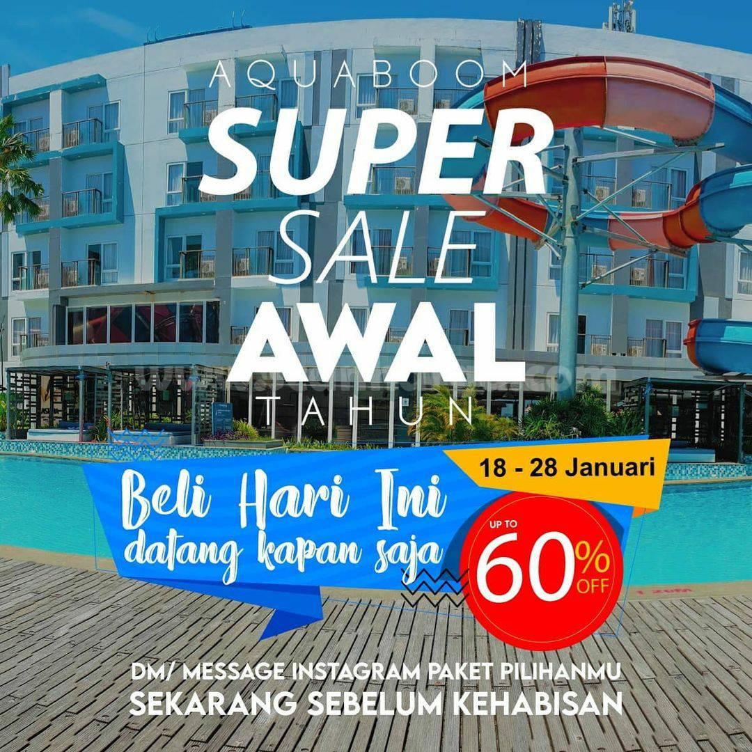 AQUABOOM Promo SUPER SALE! Diskon hingga 60%