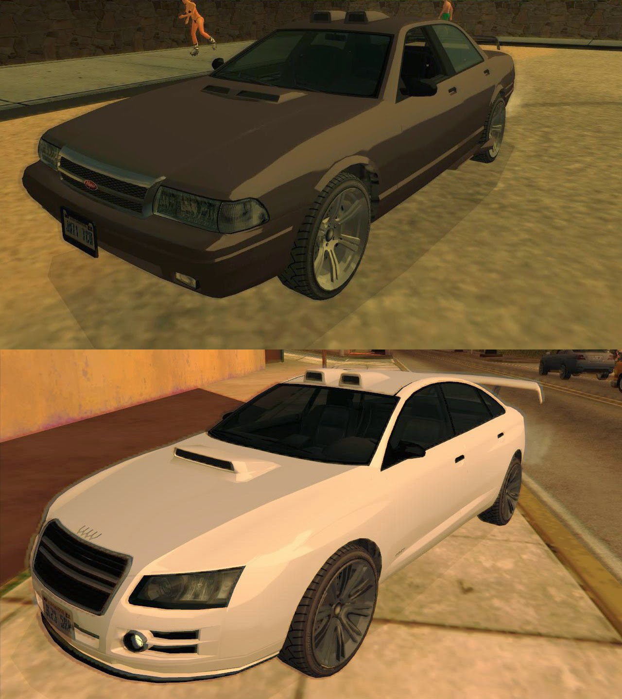 M4k3 Mods: [REL] GTA V Tuning Parts + Updated Cars