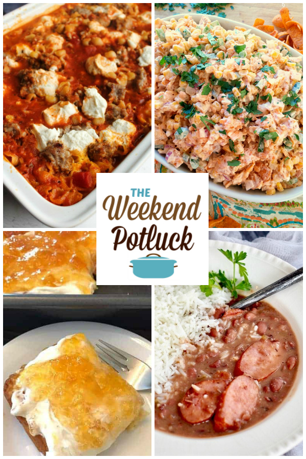 No-Boil Cheesy Pasta Bake, Frito Corn Salad, Heavenly 2-Ingredient Peach Cake, Slow Cooker Red Beans & Rice, Saucy Meatball Stir-Fry and dozens of new recipes from some of the TOP recipe creators online and on Pinterest!