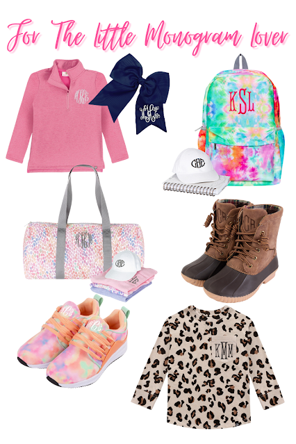 Back to School Monograms for your Mini