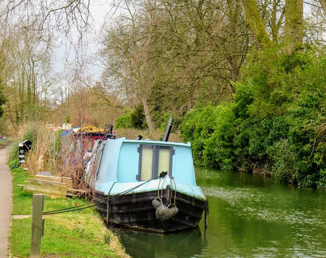 Boat on the Oxford Canals