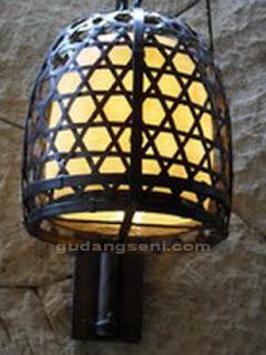 Lampu+Hias+Sangkar+Tembaga