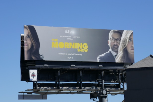 Morning Show series premiere billboard