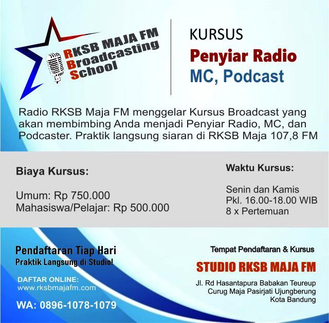 Kursus Penyiar Radio RBS
