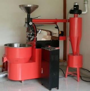 Máy rang cafe vinaroaster 10kg/1 mẻ