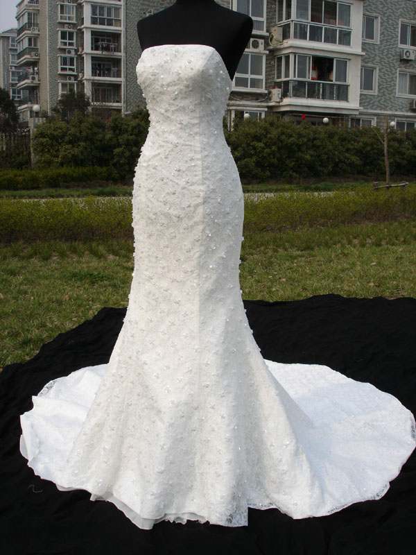 Wedding With Style Fish Style Wedding Dress