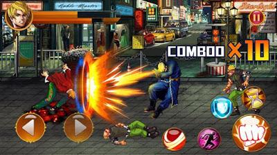 Street Fighting City Fighter Mod
