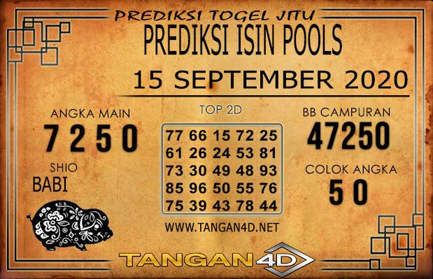 PREDIKSI TOGEL ISIN TANGAN4D 15 SEPTEMBER 2020