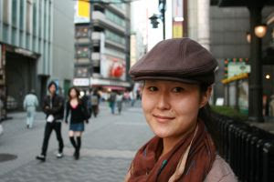 Japanese Woman: Nice portrait of a nice lady. Stock Photo credit: rcsmith
